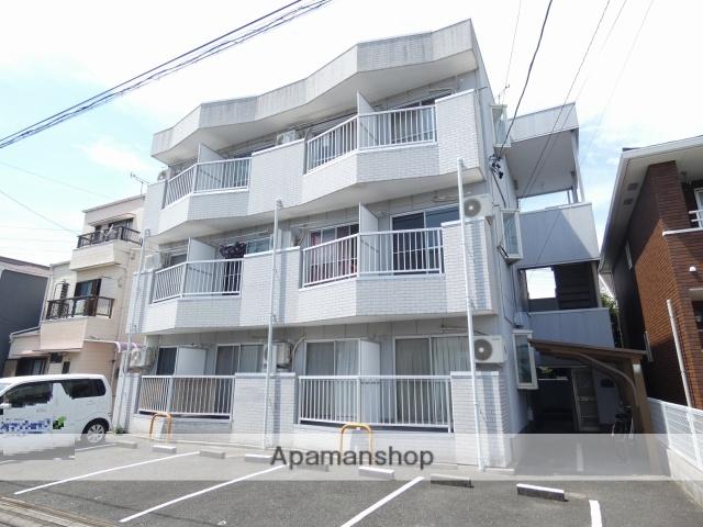静岡県浜松市中区、浜松駅徒歩15分の築28年 3階建の賃貸マンション