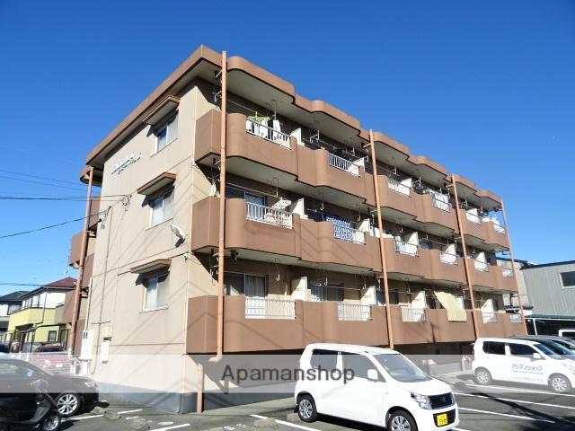 静岡県浜松市中区、浜松駅遠州鉄道バスバス25分ロックタウン下車後徒歩3分の築20年 3階建の賃貸アパート
