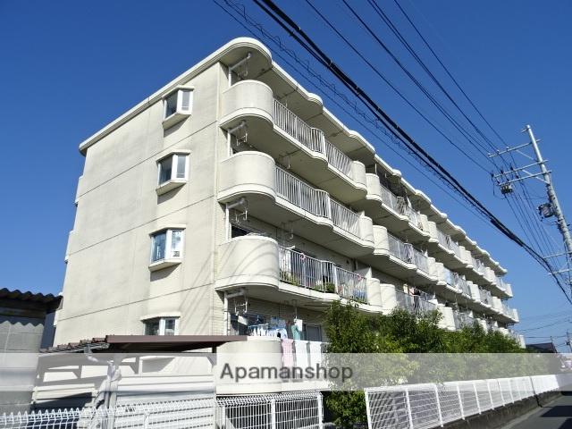 静岡県浜松市中区、浜松駅バス27分北部公民館下車後徒歩4分の築24年 4階建の賃貸マンション