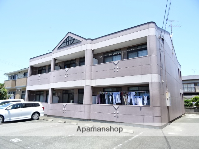 静岡県浜松市西区、浜松駅遠鉄バスバス45分坪井西下車後徒歩2分の築18年 2階建の賃貸アパート