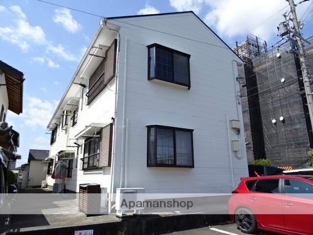 静岡県浜松市中区、浜松駅遠鉄バスバス20分追分下車後徒歩3分の築20年 2階建の賃貸アパート