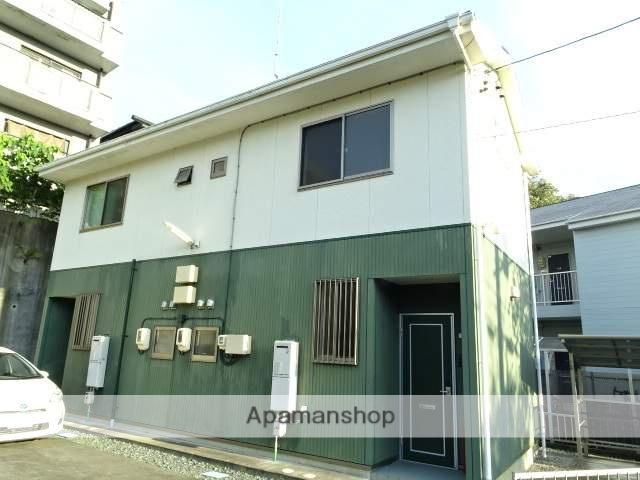 静岡県浜松市中区、浜松駅遠州鉄道バス25分海の星高下車後徒歩7分の築9年 2階建の賃貸テラスハウス