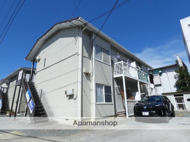 静岡県浜松市中区、浜松駅バス15分あいホール下車後徒歩3分の築22年 2階建の賃貸アパート