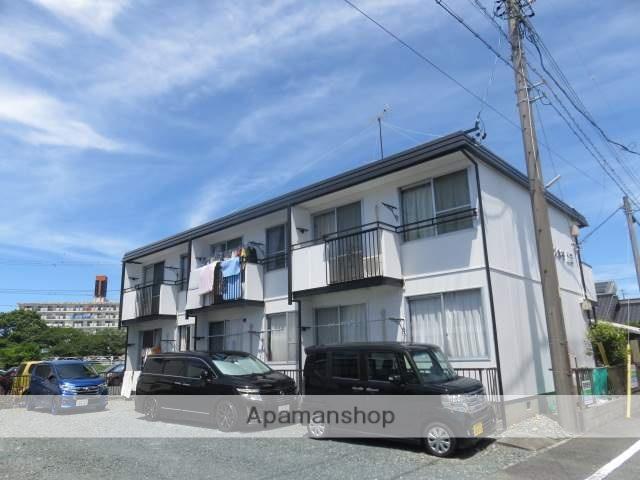 静岡県浜松市中区、浜松駅遠州鉄道バス7分竜禅寺町下車後徒歩3分の築30年 2階建の賃貸アパート