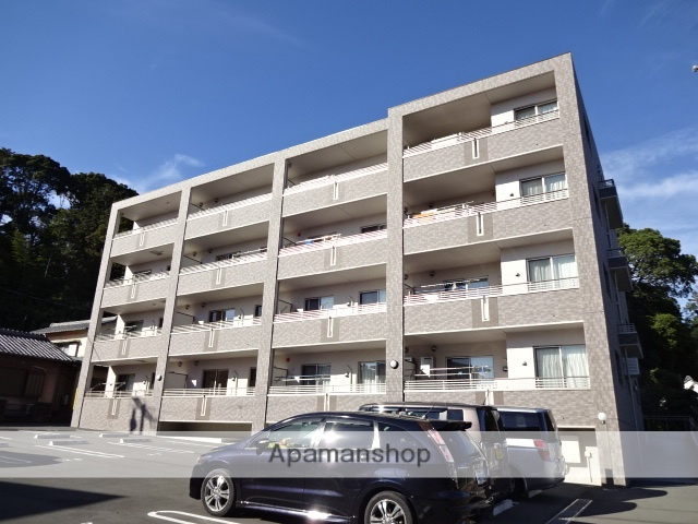 静岡県湖西市、新居町駅徒歩52分の築1年 4階建の賃貸マンション