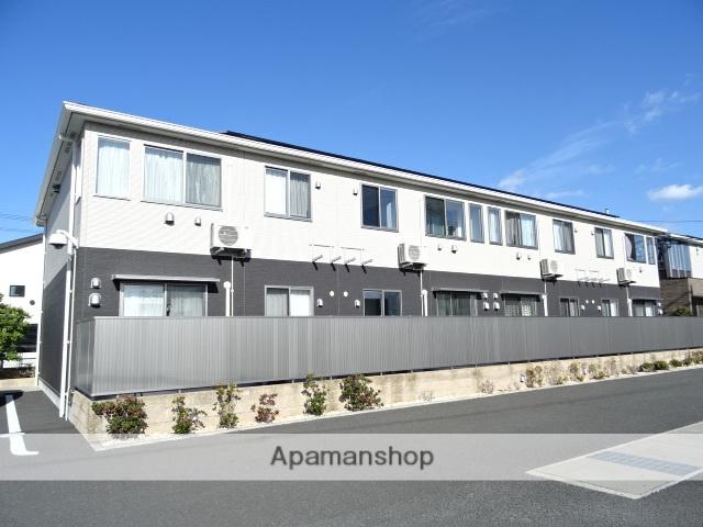 静岡県浜松市南区、浜松駅バス22分可美市民サービスセンター下車後徒歩3分の築1年 2階建の賃貸アパート