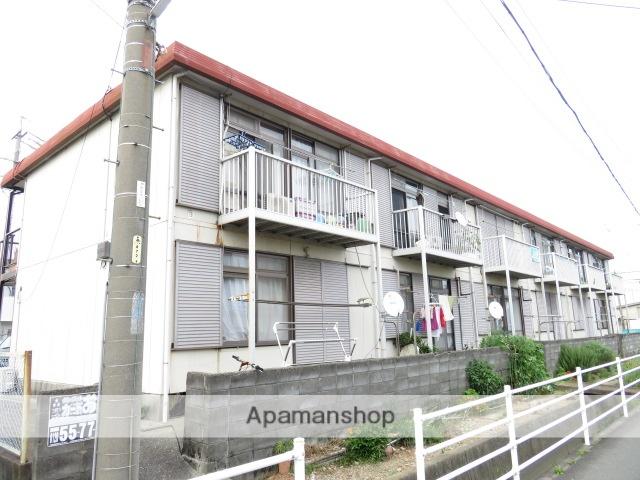静岡県浜松市中区、浜松駅バス15分神田町下車後徒歩3分の築35年 2階建の賃貸アパート