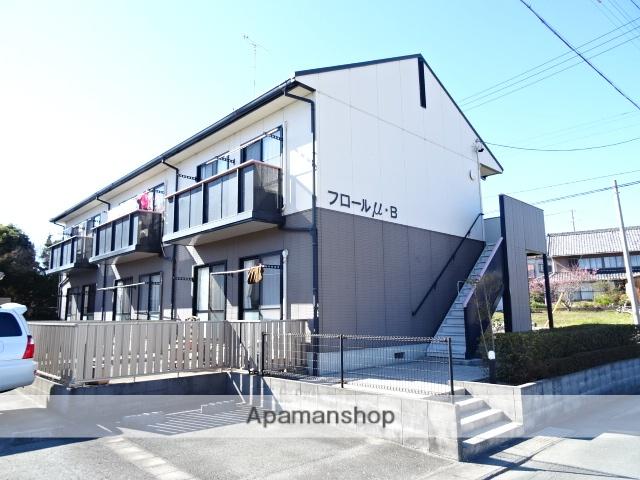 静岡県湖西市、新居町駅徒歩51分の築19年 2階建の賃貸アパート