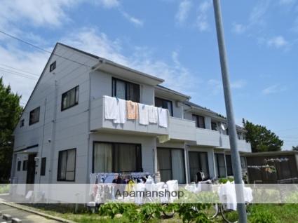 静岡県浜松市西区、浜松駅遠鉄バスバス44分新弁天下車後徒歩6分の築24年 2階建の賃貸テラスハウス