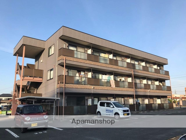 静岡県浜松市中区、浜松駅バス22分上島西下車後徒歩3分の築18年 3階建の賃貸マンション
