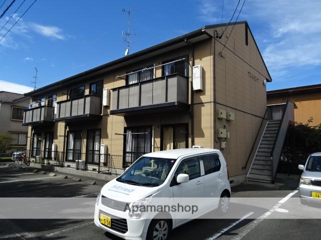 静岡県浜松市西区、浜松駅遠鉄バスバス45分新弁天下車後徒歩6分の築15年 2階建の賃貸アパート