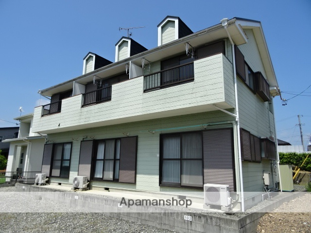 静岡県湖西市、アスモ前駅徒歩22分の築27年 2階建の賃貸アパート