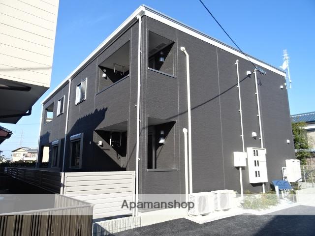 静岡県浜松市中区、浜松駅バス30分追分下車後徒歩8分の新築 2階建の賃貸アパート