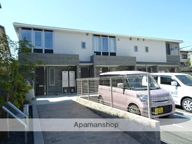 静岡県浜松市中区、浜松駅バス25分和地山下車後徒歩5分の新築 2階建の賃貸アパート