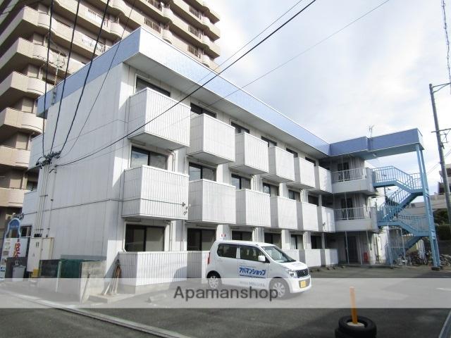 静岡県浜松市中区、浜松駅遠鉄バスバス15分常楽寺下車後徒歩1分の築20年 3階建の賃貸マンション