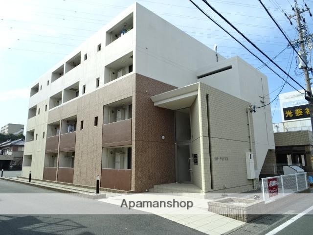 静岡県浜松市中区、上島駅徒歩1分の築3年 4階建の賃貸マンション