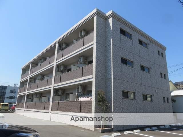 静岡県浜松市中区、浜松駅バス10分八幡中入口下車後徒歩3分の新築 3階建の賃貸マンション
