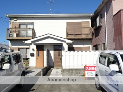 静岡県浜松市南区、天竜川駅徒歩27分の築22年 2階建の賃貸テラスハウス