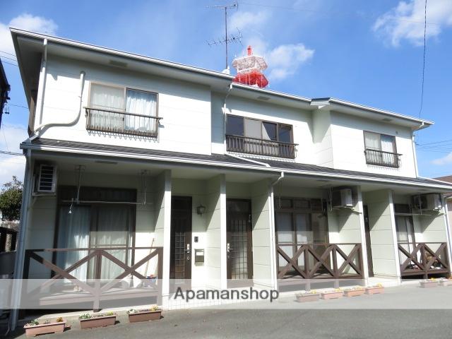 静岡県浜松市中区、浜松駅バス5分東部公民館下車後徒歩2分の築20年 2階建の賃貸テラスハウス