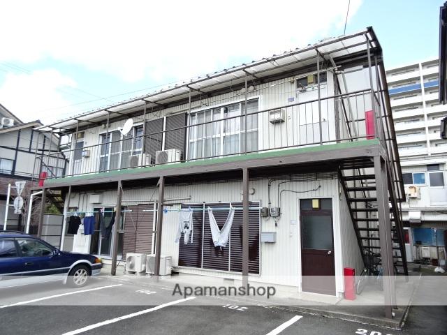 静岡県浜松市中区、浜松駅バス30分開成中学入口下車後徒歩2分の築38年 2階建の賃貸アパート