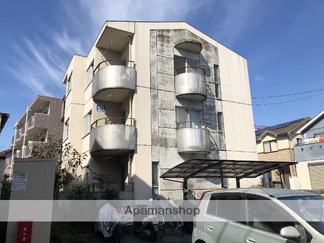 静岡県浜松市中区、浜松駅遠鉄バスバス13分和地山下車後徒歩2分の築29年 3階建の賃貸マンション