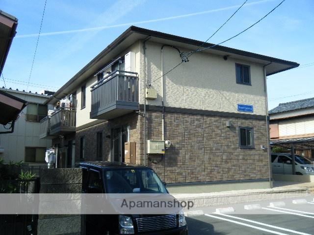 静岡県浜松市中区、浜松駅遠鉄バスバス15分六間坂下下車後徒歩3分の築7年 2階建の賃貸アパート