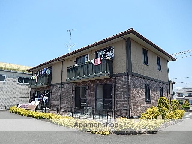 静岡県浜松市西区、浜松駅遠鉄バスバス56分村櫛下車後徒歩1分の築13年 2階建の賃貸アパート