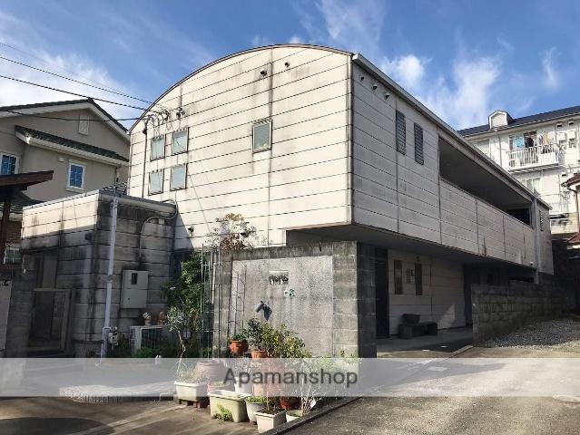 静岡県浜松市中区、浜松駅遠鉄バスバス14分浜商前下車後徒歩6分の築20年 2階建の賃貸アパート