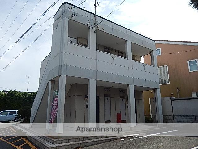 静岡県浜松市西区、浜松駅遠鉄バスバス40分坪井西下車後徒歩3分の築16年 2階建の賃貸アパート