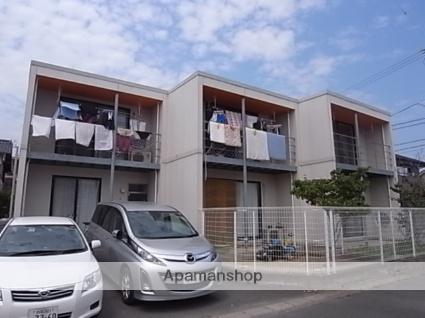 静岡県浜松市南区、浜松駅バス26分安松中下車後徒歩3分の築13年 2階建の賃貸テラスハウス