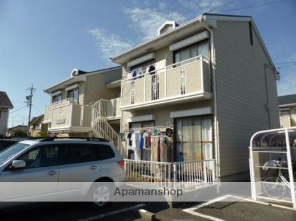 静岡県浜松市中区、浜松駅バス30分大竹医院下車後徒歩5分の築25年 2階建の賃貸アパート