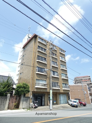 静岡県浜松市中区、浜松駅遠鉄バスバス9分さいが崖下車後徒歩24分の築32年 6階建の賃貸マンション