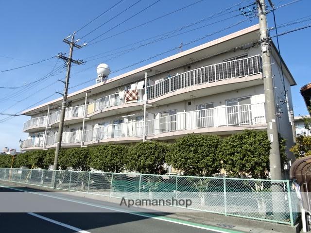 静岡県浜松市南区、天竜川駅徒歩39分の築32年 3階建の賃貸マンション