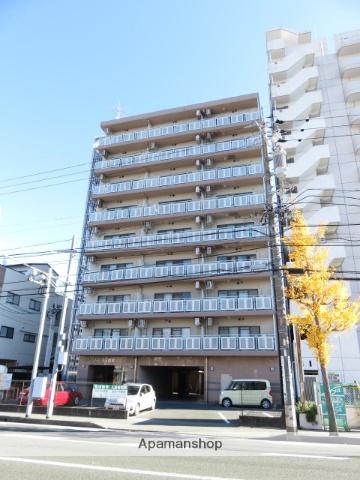 静岡県浜松市中区、浜松駅徒歩9分の築17年 9階建の賃貸マンション