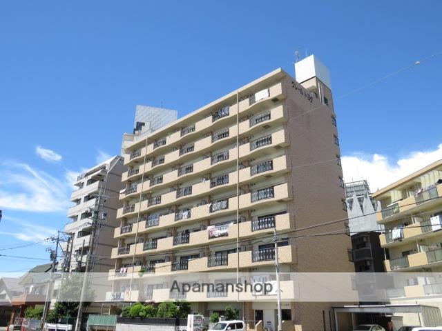 静岡県浜松市中区、浜松駅徒歩11分の築22年 9階建の賃貸マンション