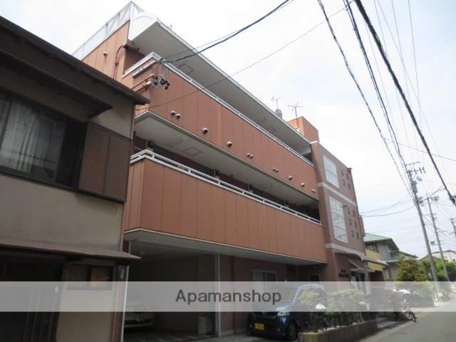 静岡県浜松市中区、浜松駅徒歩14分の築24年 3階建の賃貸アパート