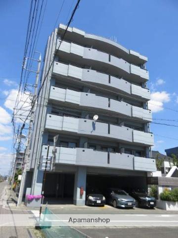 静岡県浜松市中区、浜松駅遠州鉄道バスバス7分相生下車後徒歩20分の築25年 6階建の賃貸マンション