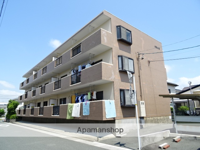 静岡県浜松市中区、浜松駅バス20分西伊場下車後徒歩5分の築22年 3階建の賃貸マンション
