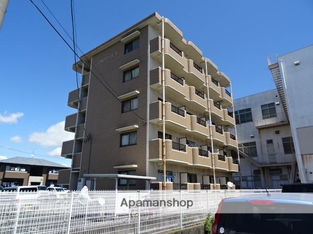 静岡県浜松市東区、天竜川駅徒歩8分の築19年 5階建の賃貸マンション
