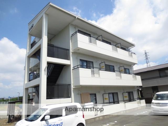 静岡県浜松市中区、浜松駅バス16分下屋敷下車後徒歩9分の築18年 3階建の賃貸アパート