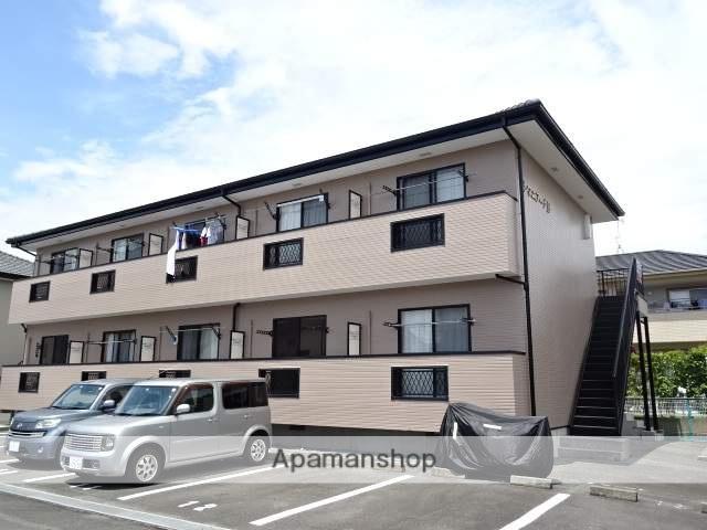静岡県浜松市浜北区、遠州小松駅徒歩8分の築15年 2階建の賃貸アパート