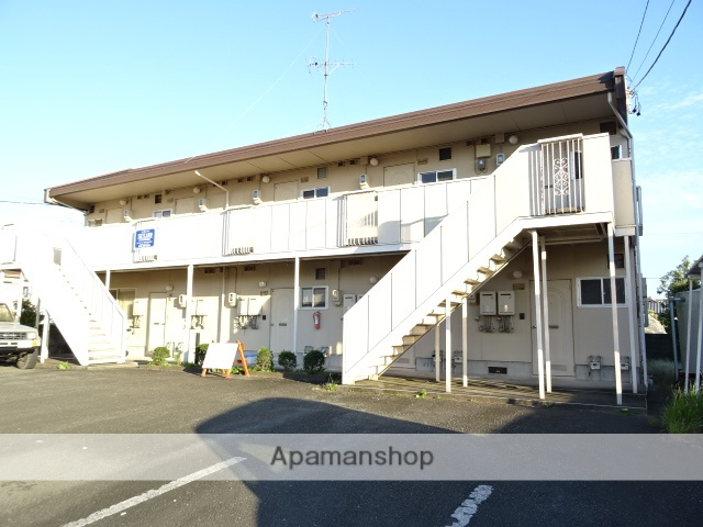 静岡県浜松市浜北区、遠州西ヶ崎駅徒歩18分の築26年 2階建の賃貸アパート