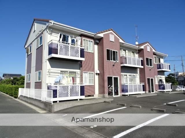 静岡県浜松市東区、天竜川駅徒歩16分の築19年 2階建の賃貸アパート