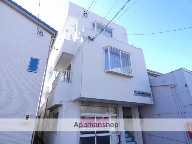 静岡県浜松市中区、浜松駅徒歩5分の築30年 3階建の賃貸アパート