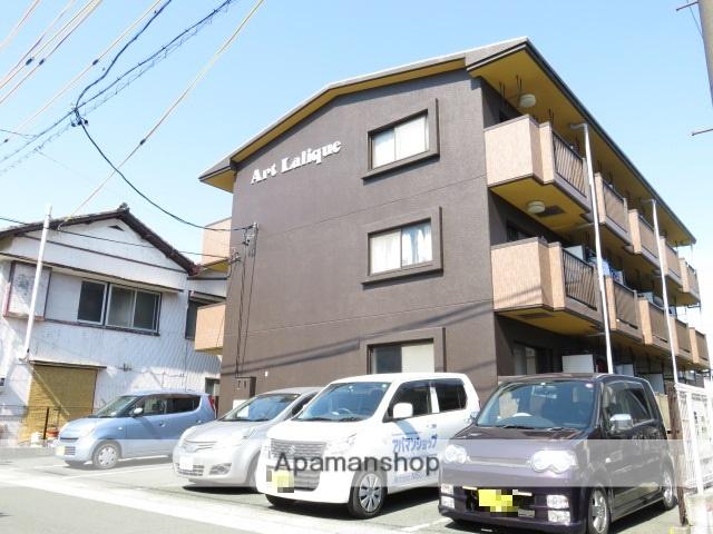 静岡県浜松市中区、浜松駅遠鉄バスバス5分中島下車後徒歩3分の築17年 3階建の賃貸マンション