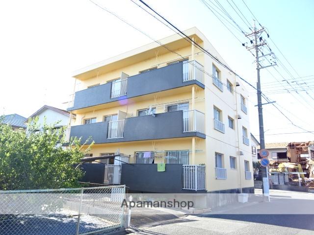 静岡県浜松市中区、浜松駅バス20分県営住宅下車後徒歩5分の築34年 3階建の賃貸マンション