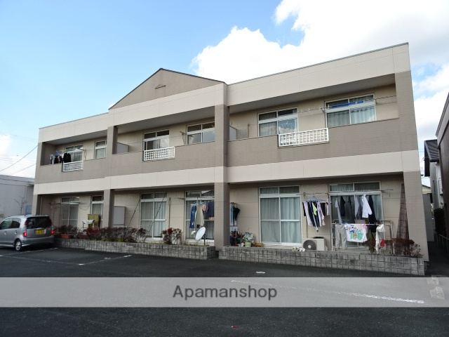静岡県浜松市浜北区、美薗中央公園駅徒歩23分の築23年 2階建の賃貸アパート