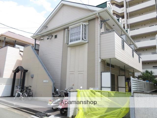 静岡県浜松市中区、浜松駅徒歩10分の築27年 2階建の賃貸アパート
