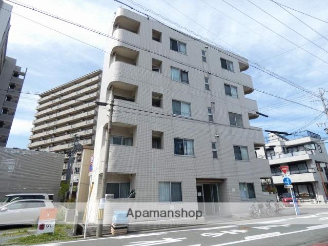 静岡県浜松市中区、浜松駅バス10分八幡宮下車後徒歩2分の築25年 5階建の賃貸マンション