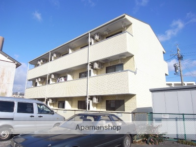 静岡県浜松市中区、浜松駅徒歩9分の築17年 3階建の賃貸マンション